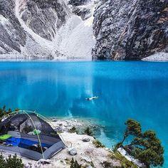 Laguna 69, Huaraz, Peru. Visit www.andinotrek.com for more info.