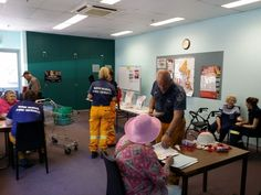 The local Bush Fire Brigade joins Ku-ring-gai Library at St Ives to discuss bush fire survival with the community.