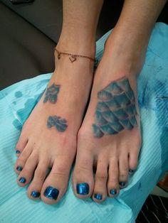 mermaid feet  by Tara Renee at Chrome Lotus