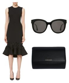 """Untitled #96"" by mafe2605 on Polyvore featuring Carolina Herrera, Givenchy and Gentle Monster"