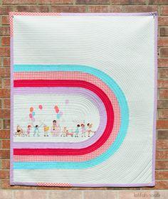 Play Around the World Quilt by Latifah Saafir