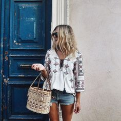 Easy, breezy Summer outfit.