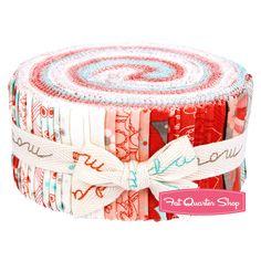 Flirt Jelly Roll Sandy Gervais for Moda Fabrics - Fat Quarter Shop