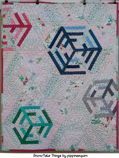 The Intrepid Thread: Snowflake Things Quilt Tutorial