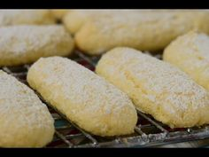 Ladyfingers Recipe - Joyofbaking.com *Video Recipe*