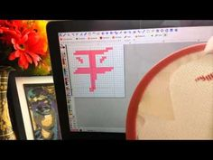 How to follow a cross stitch pattern (for beginners) - YouTube