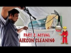 Squeaky Clean Express Aircon Cleaning - No Mess. No Fuss Wet Floor, Cleaning Solutions, The Unit, Detail