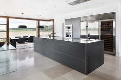 bulthaup b3 in aluminium grey from the team at bulthaup Clerkenwell
