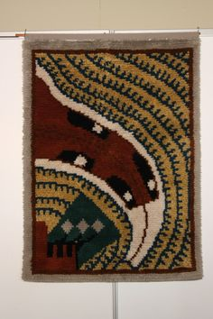 Heinon Toukka-ryijy Rya Rug, Tapestry Weaving, Future, Rugs, Wall, Vintage, Tapestry, Young Adults, Farmhouse Rugs