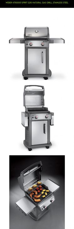 Weber 47100001 Spirit S210 Natural Gas Grill, Stainless Steel #gadgets #fpv #technology #grills #drone #racing #shopping #weber #parts #gas #camera #products #plans #tech #kit