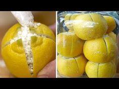 Taglia un Limone In 4 Pezzi, Mettici il Sale e Mettilo In Cucina… Ecco Perché! - YouTube