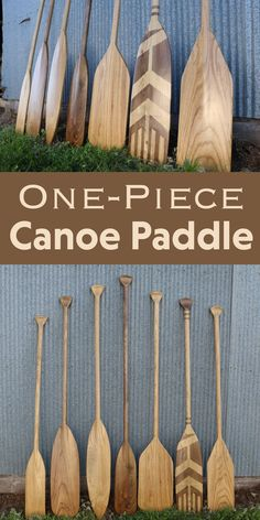 How to make non-laminated canoe paddles. Canoe Camping, Canoe Trip, Canoe And Kayak, Kayak Fishing, Sailing Kayak, Sea Kayak, Fishing Tips, Fishing Boats, Wooden Canoe