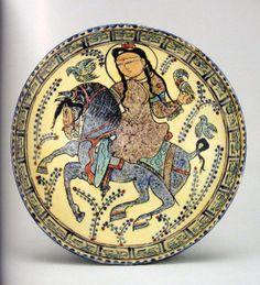 13th century Iranian Minai ware