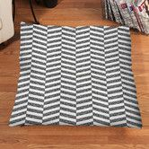 Found it at Wayfair - Sketch Herringbone Floor Pillow
