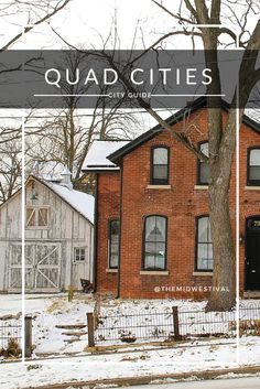 Wholly underrated, Iowa and Illinois' Quad Cities (Moline, Davenport, Rock Island and Bettendorf) are well worth the trip! Quad Cities guide by @themidwestival #themidwestival