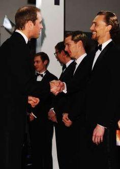 トム・ヒドルストン ウィリアムス王子 Tom hiddleston & Prince Williams