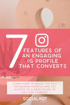 Building a strong and engaging IG Profile is a key part of your marketing strategy on Instagram. Your profile is where curious followers become subscribers, shoppers, and clients. If you haven't optimized your profile, you are missing out! Check out my latest blog post to find out the 7 features every IG profile needs to convert & get your FREE IG Profile guide to help you get started. Social Media Analytics, Social Media Content, Best Instagram Profiles, Writing A Bio, Instagram Marketing Tips, Business Profile, Online Marketing, How To Find Out