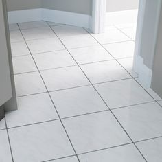 How to clean tile floors or walls.