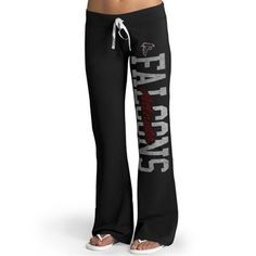 Womens Atlanta Falcons '47 Brand Black Pep Rally Pants