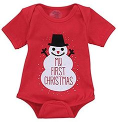Amazon.com: Gotd Newborn Infant Baby Boy Girl Letter Romper Christmas Outfits Clothes My FIRST Christmas Autumn Winter (0-3Months, Red): Musical Instruments