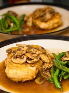 To DIE for Chicken Marsala from Food.com: A MUST HAVE for anyone that loves Italian food. This is a extremely easy recipe and it is great for dinner parties or a romantic dinner with your Honey. Try it and let me know what you think! I buy pre-sliced mushrooms and pre-made broth and it really cuts down the time you spend preping.
