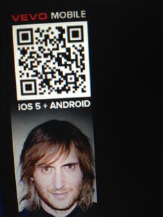 David Guetta's QR Code