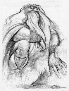 Sinbad: Legend of the Seven Seas concept art by Carter Goodrich. Character Sketches, Character Design References, Character Illustration, Character Art, Animal Sketches, Art Sketches, Sinbad, Animation, Character Design Inspiration