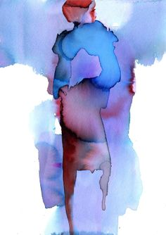 "Saatchi Online Artist: Sylvia Baldeva; Painting, Digital ""Fashion pose"""