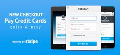 Pay with Credit Cards, simple, secure, awesome!