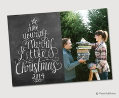 Have Yourself A Merry Little Christmas 2014  Digital by LilyandVal, $25.00