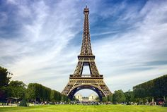 Eiffel Tower Tourist Destinations in France And Symbol Of Paris Travel Wallpaper Images Widescreen Free #92000198933 Wallpaper