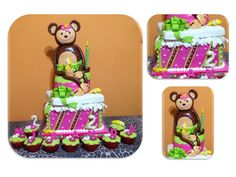 Torta Monkey Love
