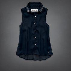 girls jane chiffon shirt   girls fashion tops   abercrombiekids.com