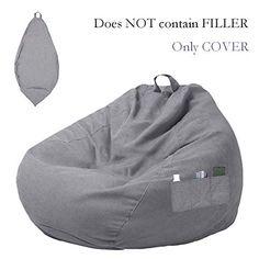 Bean Bag Sofa, Bohemian Design, Slumber Parties, Designer Pillow, Neutral Colors, Floor Pillows, Couch, Playroom, Lazy