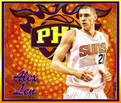NBA player edit - Alex Len