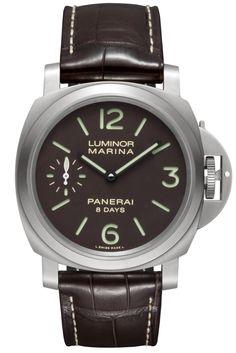 Luminor Marina 8 Days Titanio - 44mm PAM00564 - Collection Luminor - Officine Panerai Watches