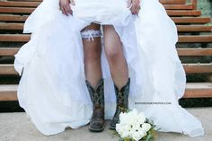 inspired country wedding southern western photography bouquet flowers love family bride groom cowboy cowgirl hat boots lake beautiful dress tux kissing kiss marriage married garter belt portrait idea ideas cute adorable stairs legs family photography cowboy cowgirl country girl western cute photo idea kiss bride groom love hitched married