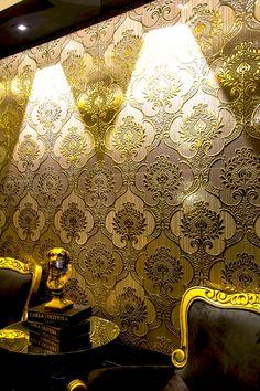 Produtos - Ceusa Revestimentos Cerâmicos - Linha Decorative - Golden - Projeto: Carla Oliveira
