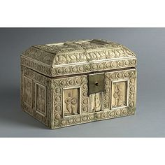 Casket - dated 11th or 12th Century  artist unknown, Istanbul