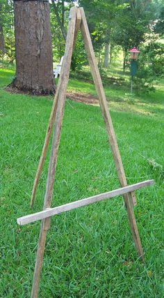 Rustic Tobacco Stick  Easel
