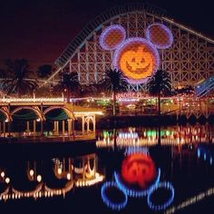 Pin for Later: 36 Reasons You Should Stay FAR AWAY From Disneyland During Halloween Time California Screamin‍' gets a pumpkin makeover. Are they even allowed to do that?!