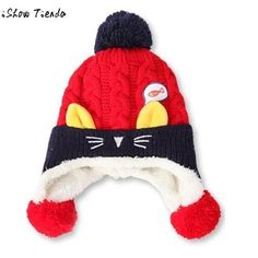 929267aac865 best sale Winter Hats For Kids Velvet Warm Baby