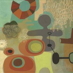 """Mid Century Mood I"" by Richard Faust via @greatbigcanvas available at GreatBIGCanvas.com."