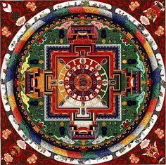 mandala Sacred Geometry Art, Sacred Art, Tantra, C G Jung, Shri Yantra, Vajrayana Buddhism, Spiritual Symbols, Mandala Art, Fractal Art