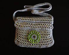 Soda tab / pop tab handmade purse