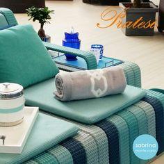 "#monacoyachtshow2015 #Pratesi ""Gatsby"" Appliqué beach towel @sabrinamontecarlo"
