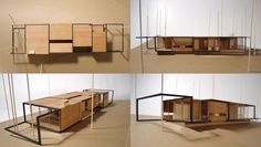allied works architecture - Dutchess County Residence - Guest House, architectural model