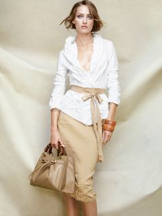 Donna Karan Spring/Summer 2011 Look Book