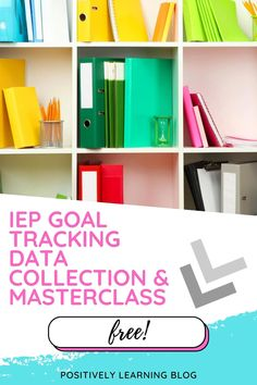 You gathered all the data on IEP goals and objectives, OR maybe you're not quite sure where to start. Special Education help is here! This is a free IEP Goal Tracking download template plus masterclass showing you how easy it can be to stay on top of all that data paperwork!