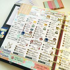 Erin Condren Planner in a large Kikki.K. Foiled stickers by  AddALittleShine.com. Instagram: @PlanningWithMax